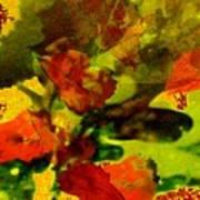 Abstract Landscape, Fall Theme Art Print