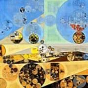 Abstract Painting - Brown Pod Art Print