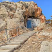 Agioi Saranta Cave Church - Cyprus Art Print