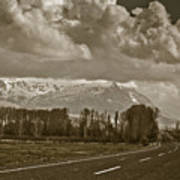 Aladaglar Mountains Print by Gabriela Insuratelu