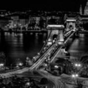 An Evening In Budapest Art Print