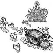 Andersen: Ugly Duckling Art Print