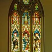 3 Apostles South Stained Glass Window Christ Church Cathedral 1 Art Print