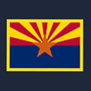 Arizona Flag Art Print