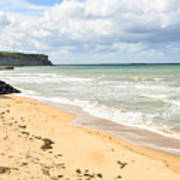 Arromanches Beach Art Print