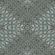 Aztec Navajo Pattern Background Art Print