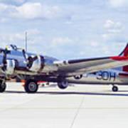 B-17 Bomber 5 Art Print