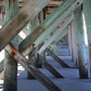 Beneath The Docks Art Print