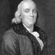 Benjamin Franklin (1706-1790) Art Print