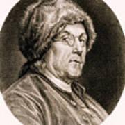 Benjamin Franklin, American Polymath Art Print by Science Source