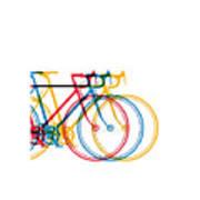 Bike Art Art Print