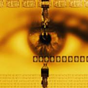Biometric Identification Art Print