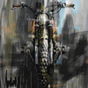Bmw Motorcycle Art Print