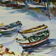 3 Boats I Art Print