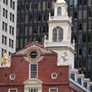 Boston Old State House Art Print