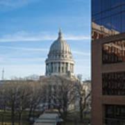 Capitol - Madison - Wisconsin Art Print