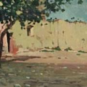 Case Sulla Marina Di Laigueglia Art Print
