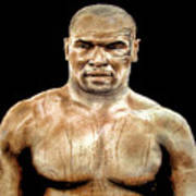 Champion Boxer And Actor Mike Tyson Art Print
