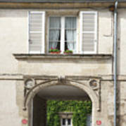 Chantilly France Street Scenes Art Print