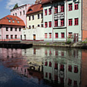 City Of Bydgoszcz In Poland Art Print