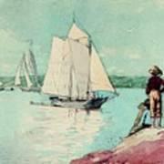 Clear Sailing Art Print