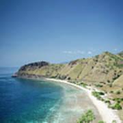 Coast And Beach View Near Dili In East Timor Leste Art Print