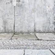 Concrete Background Art Print