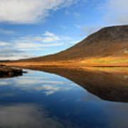 Connemara Lake Reflection Art Print