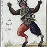 Demonology, 18th Century Art Print