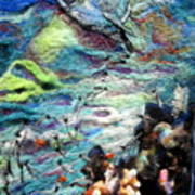 Detail Of Water Print by Kimberly Simon