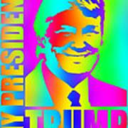 Donald Trump 2016 Presidential Candidate Art Print