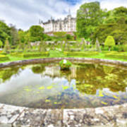 Dunrobin Castle Reflected Art Print