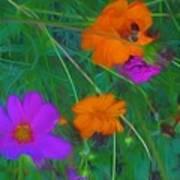 Flower Painting Art Print