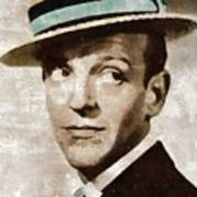 Fred Astaire Hollywood Legend Art Print