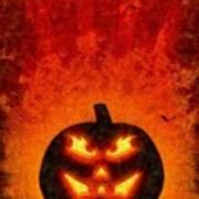 Halloween Pumpkin Art Print