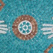 Hans Mosaic Art Print