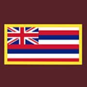 Hawaii Flag Art Print