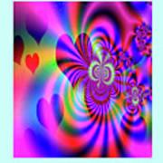 Heart Of Hearts Art Print