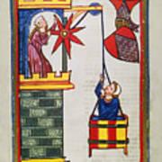 Heidelberg Lieder, 14th C Art Print