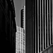 Heron Tower London Black And White Art Print