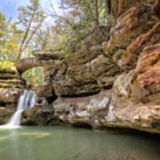 Hocking Hills Waterfall Art Print