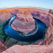 Horseshoe Bend Near Page Arizona Art Print
