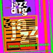 3 Jazz Internet Music Poster Art Print