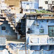 Jodhpur Blue City Art Print