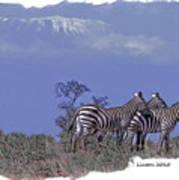 Kilimanjaro Art Print by Larry Linton