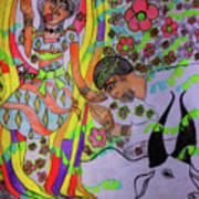 Kintu And Nambi A Folktale Art Print