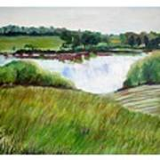 Lake Joy Art Print