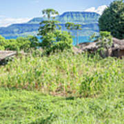 Landscape At The Lake Malawi Art Print