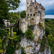 Lichtenstein Castle - Baden-wurttemberg - Germany Art Print
