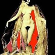 Louise Brooks Nude Circa 1928-2008 Art Print